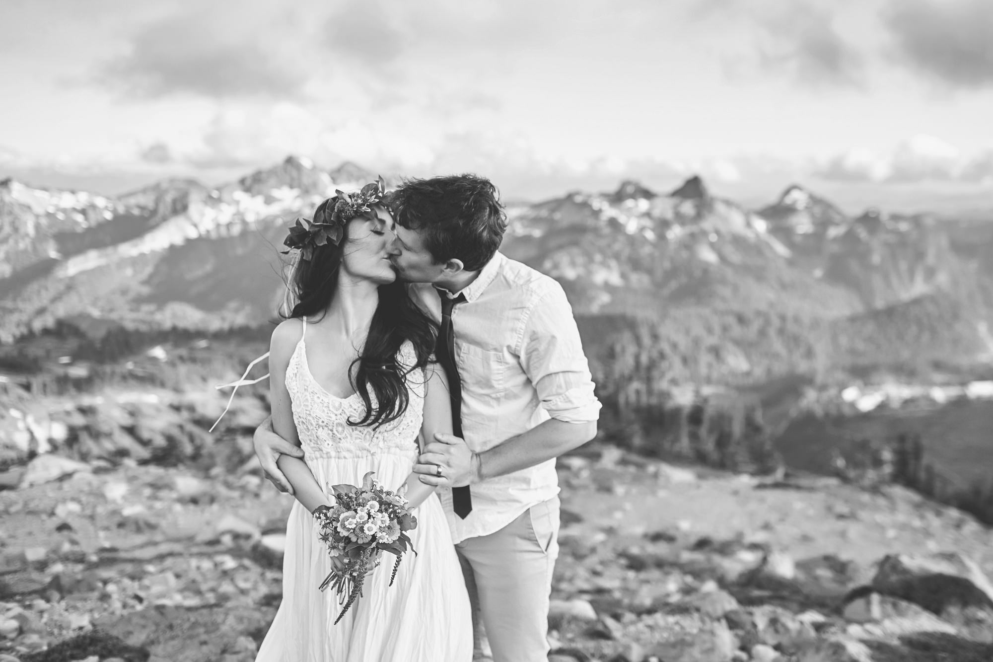 Mount Rainier Seattle Elopement