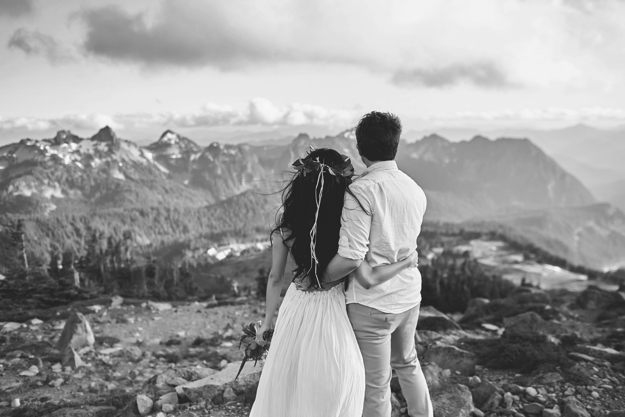 Mount Rainier Anniversary Session