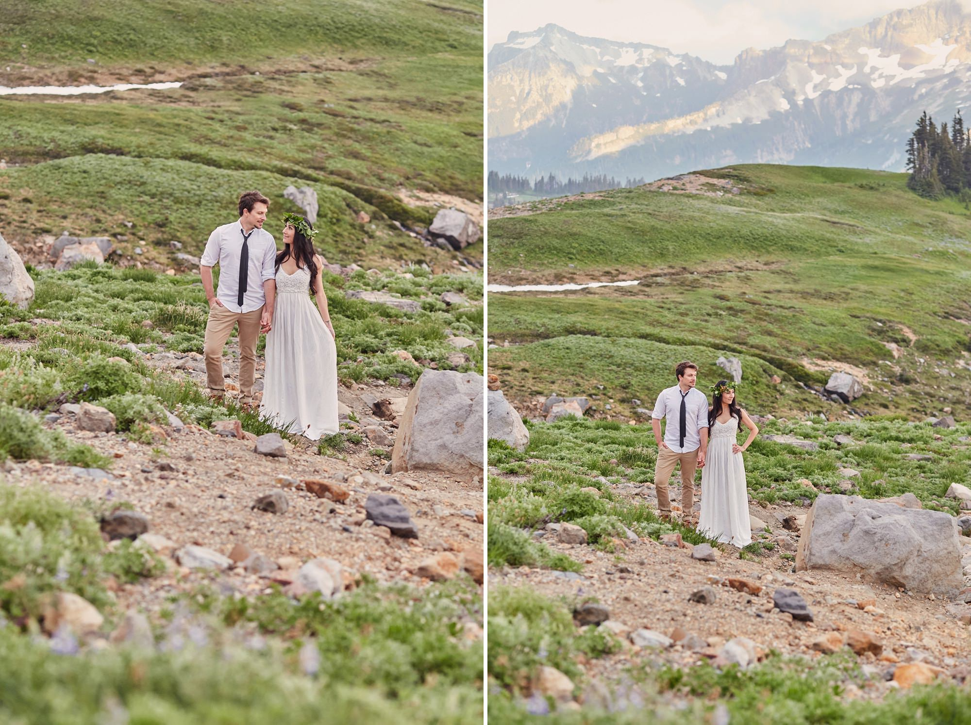 Washington State Adventure Elopement Photography