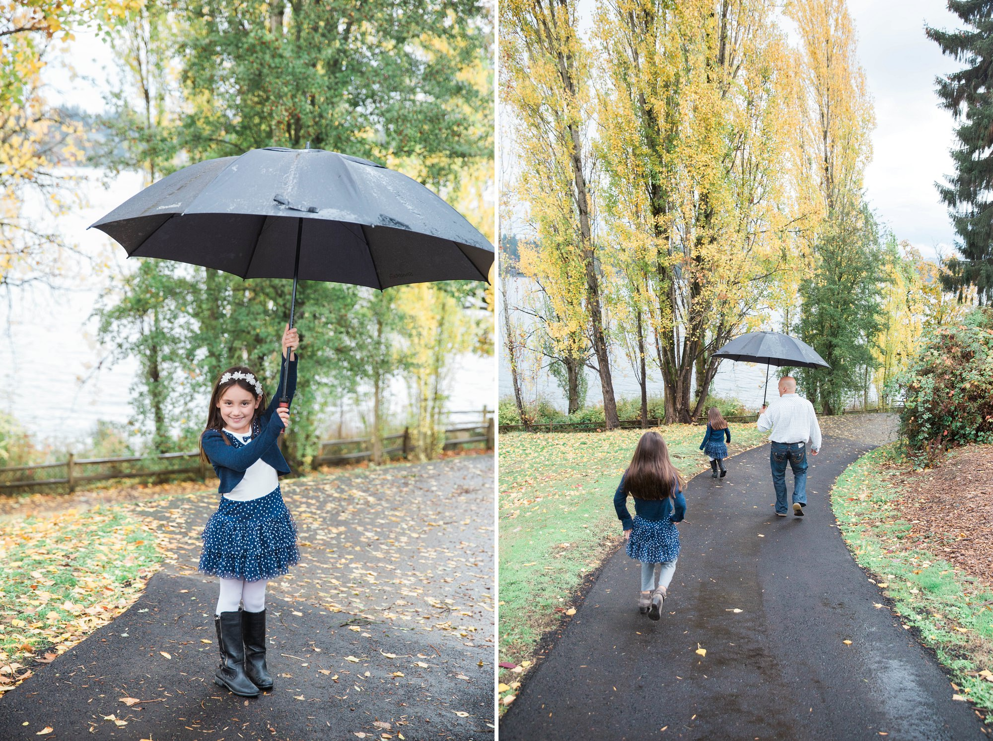 Luther Burbank Park Seattle Family Session