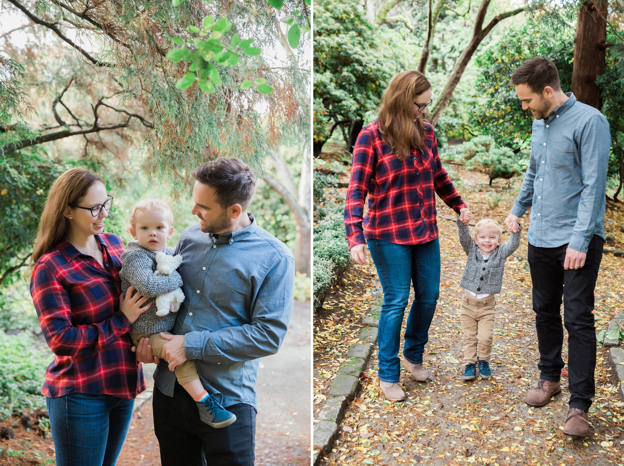 Parsons Gardens Seattle Family Session