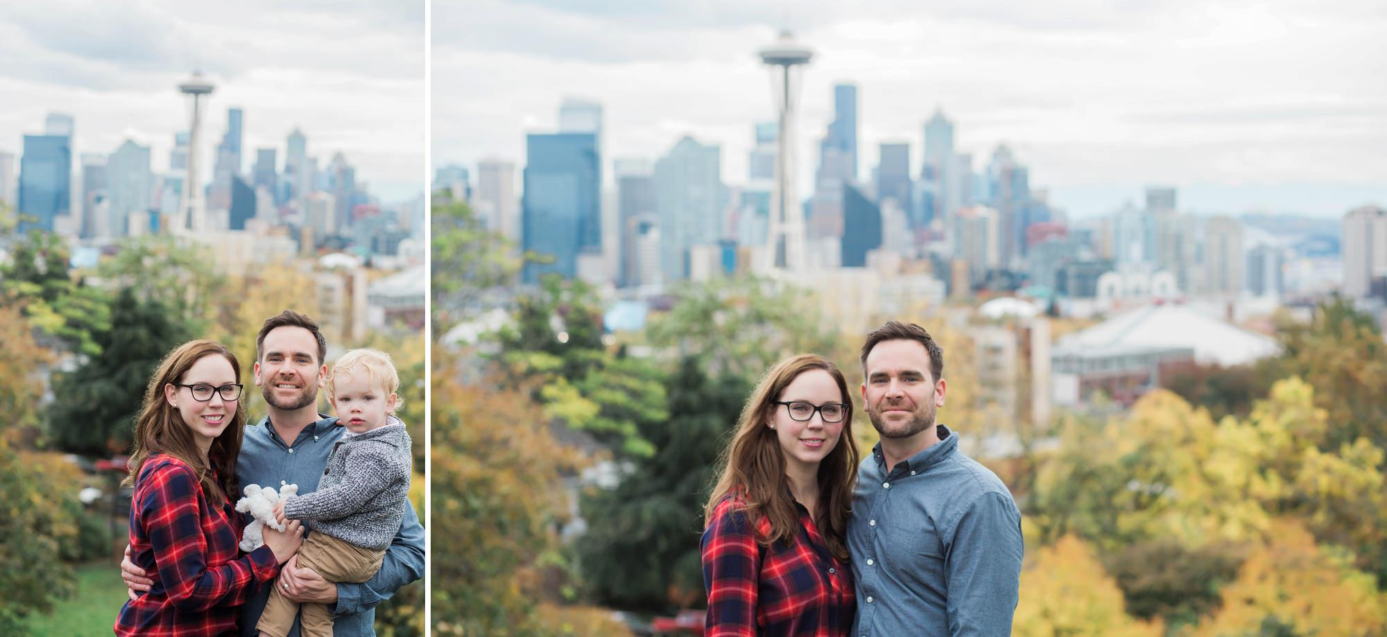 Kerry Park Seattle Family Photos