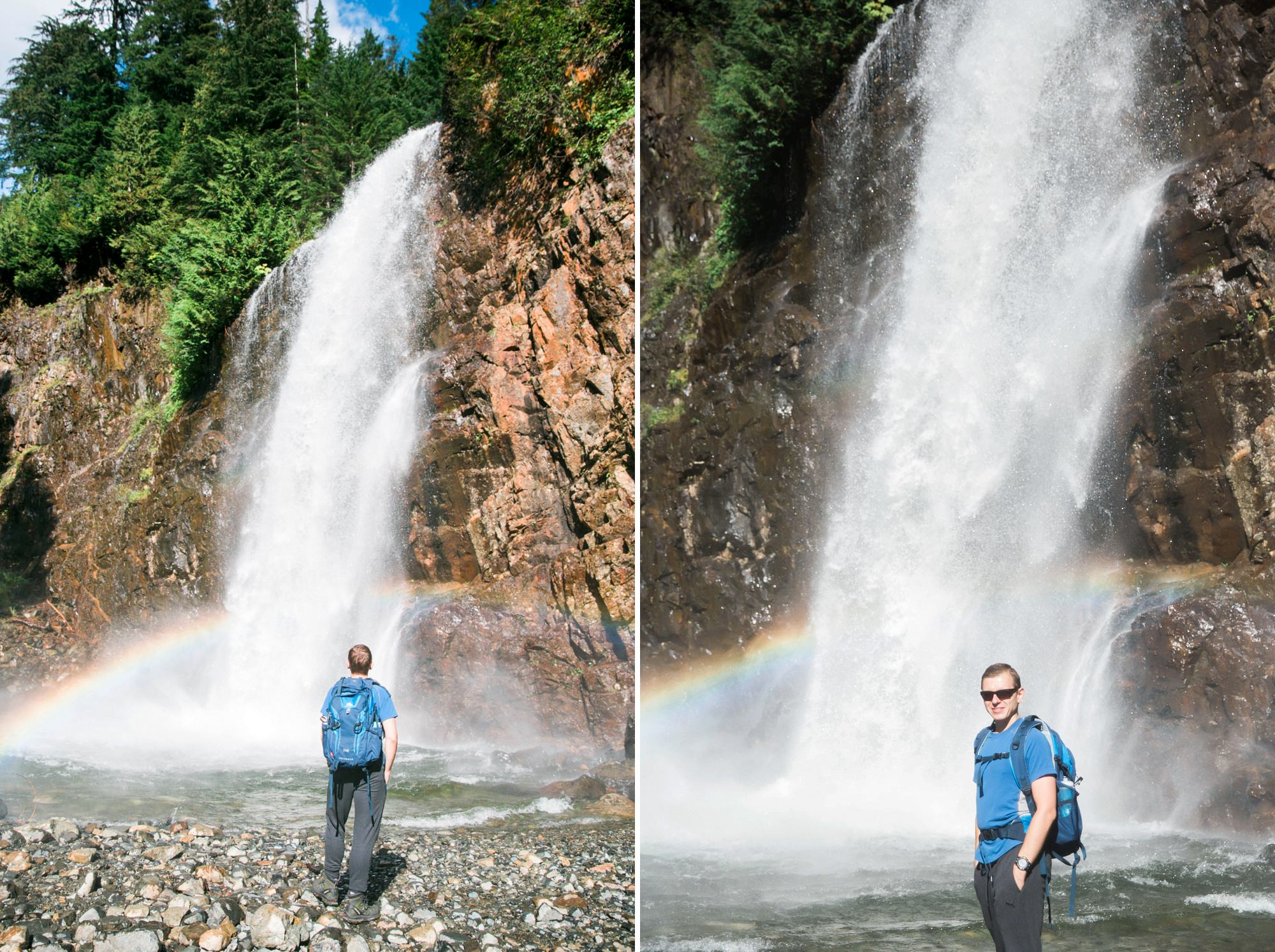 Franklin Falls Seattle Family Adventure Photographer