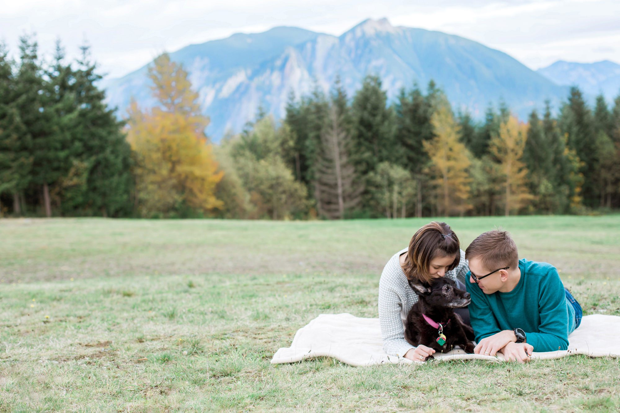 Snoqualmie Point Park Family Photos