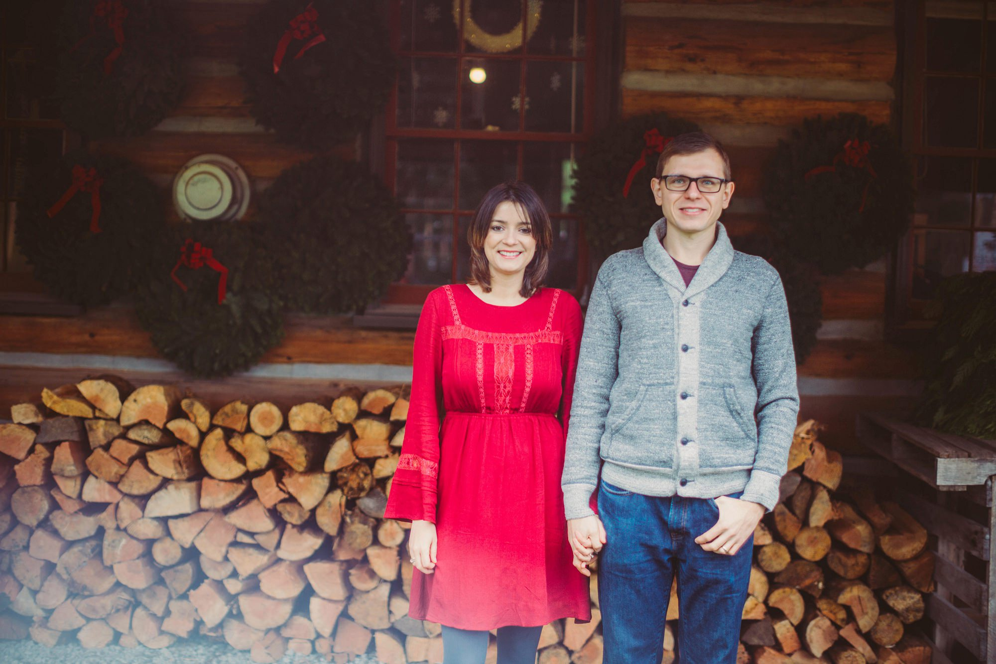 Christmas Tree Farm Family Photos in Seattle