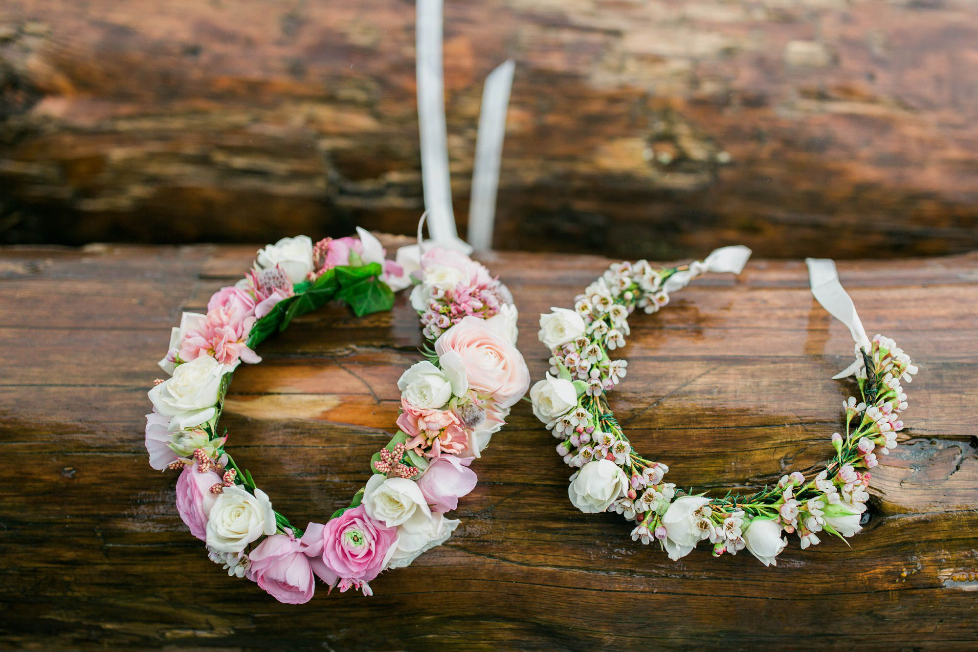 Pastel Mother Daughter Floral Crown