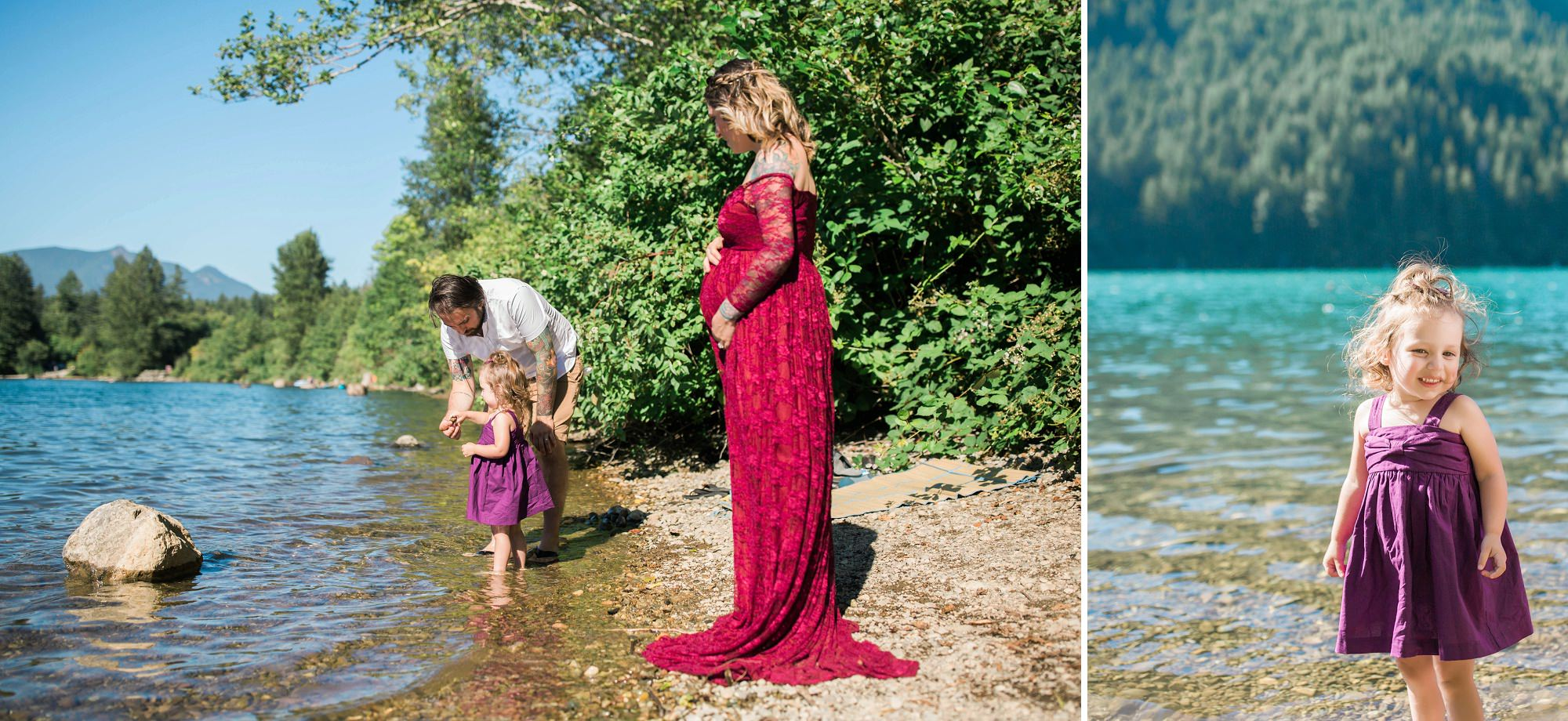 rattlesnake lake maternity and family photos