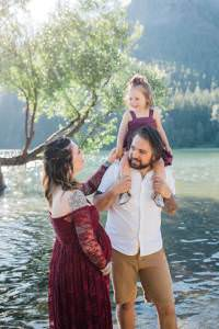 rattlesnake lake family and maternity session