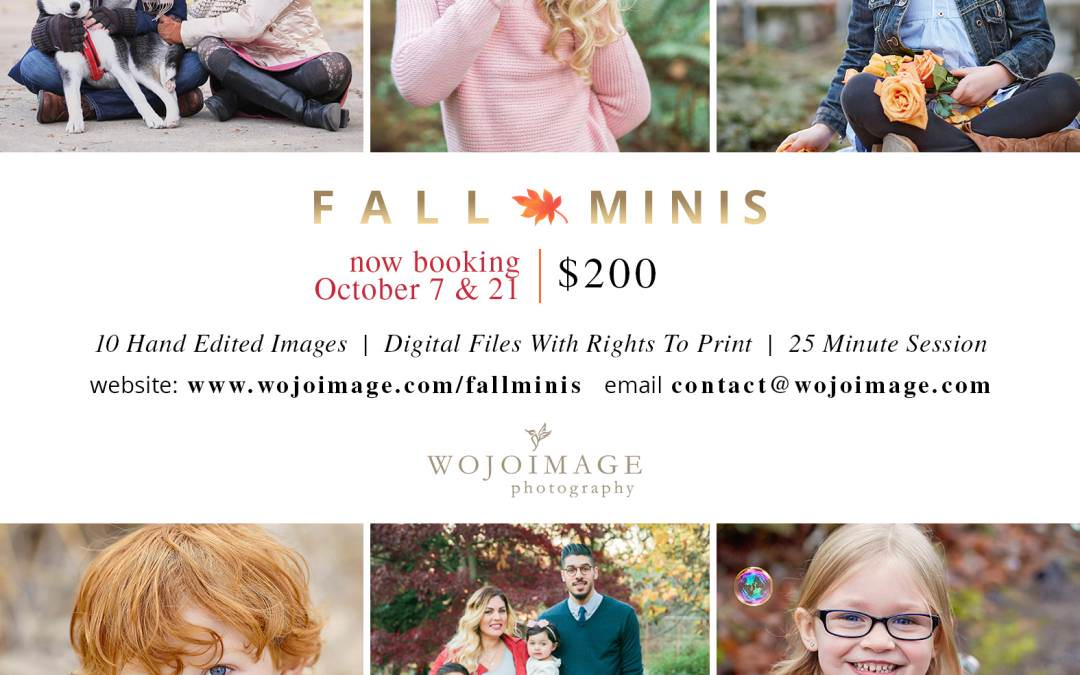 Fall Mini Sessions-Seattle Family Photographer