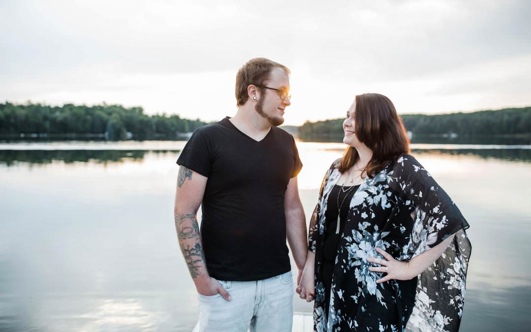 Patrycja and Cody-Northern Wisconsin Engagement Photographer