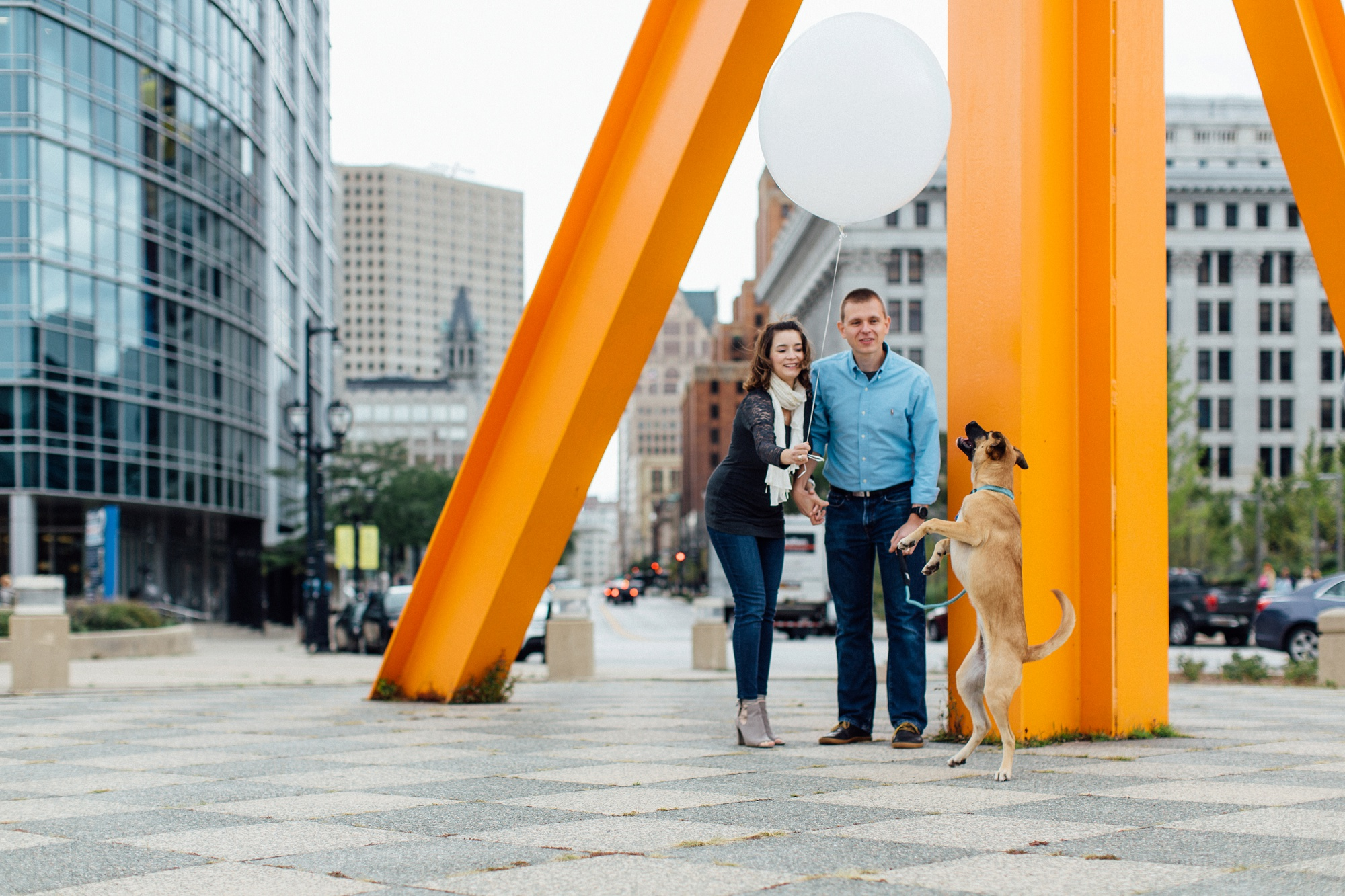 Milwaukee Art Museum Family Session