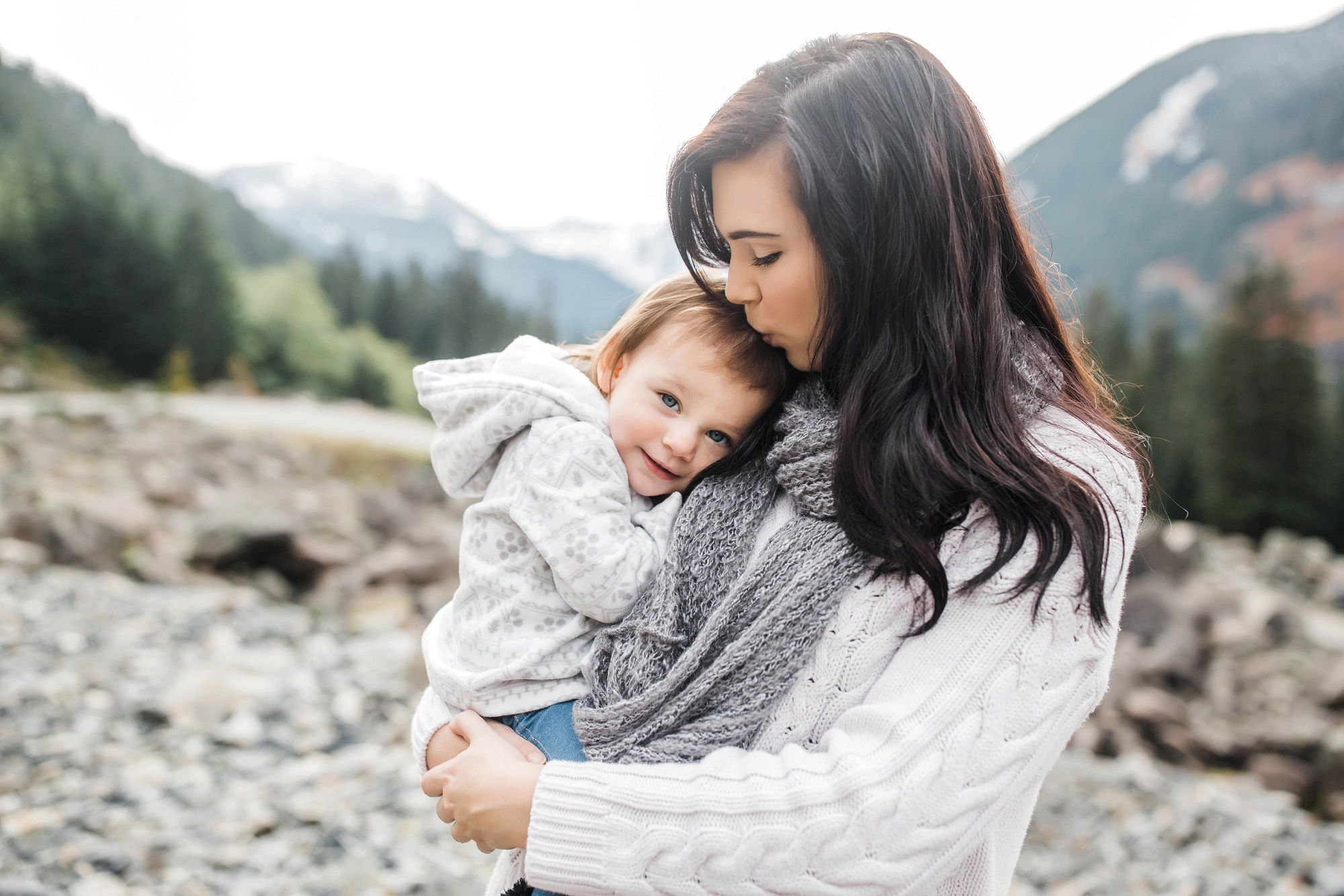 Snoqualmie Pass Adventure Family Session