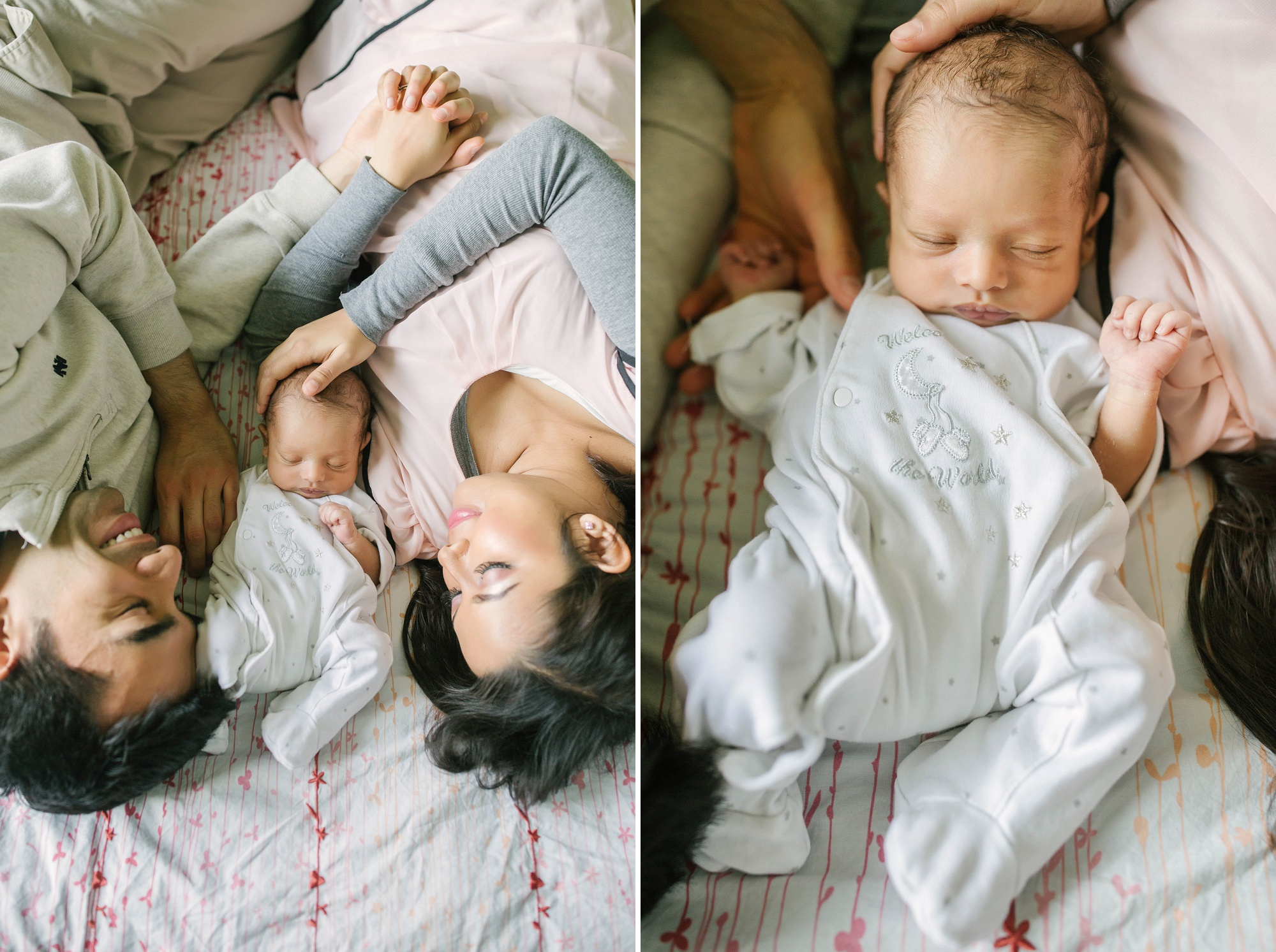 Seattle Lifestyle Newborn Photographer