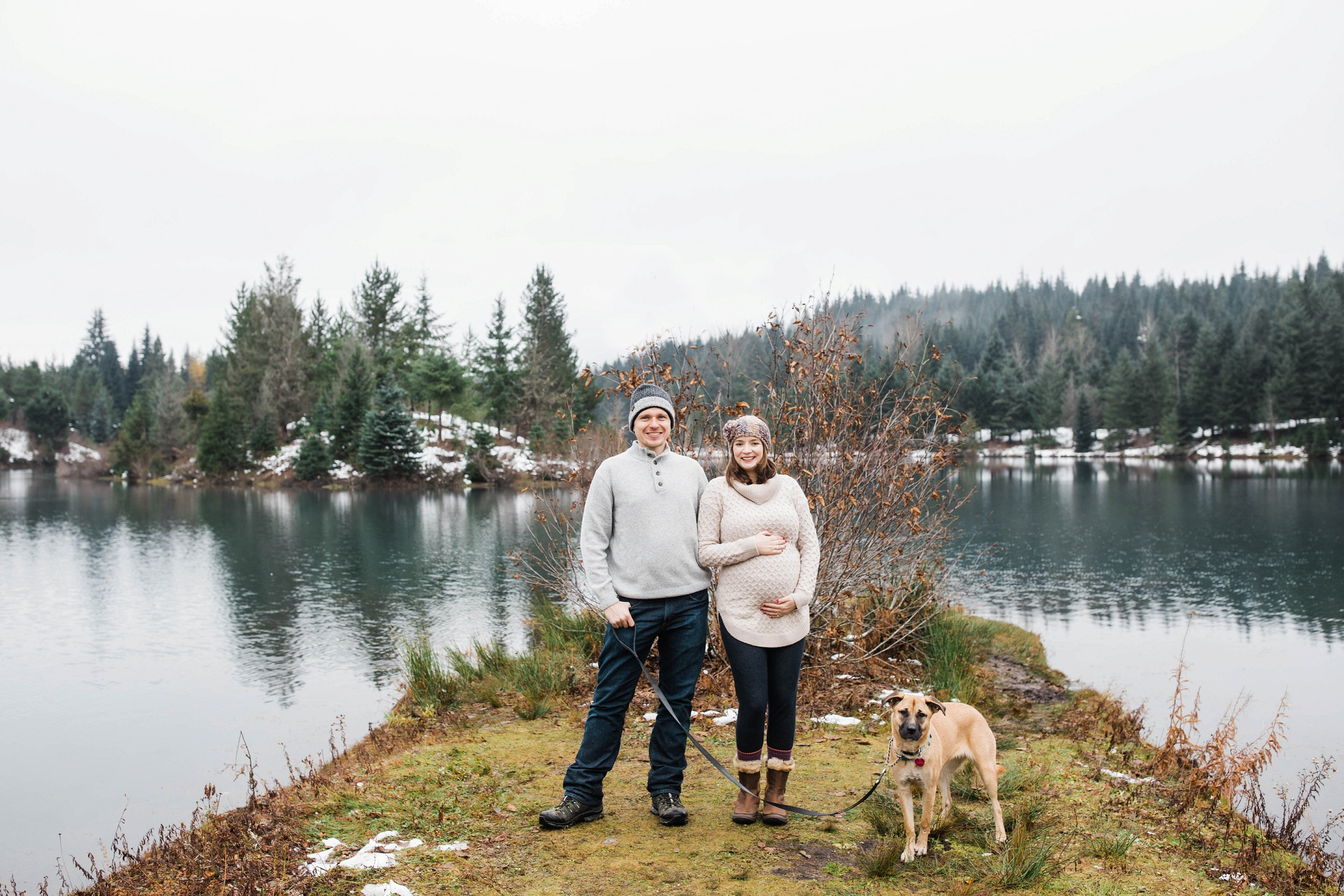 Gold Creek Seattle Maternity Photographer
