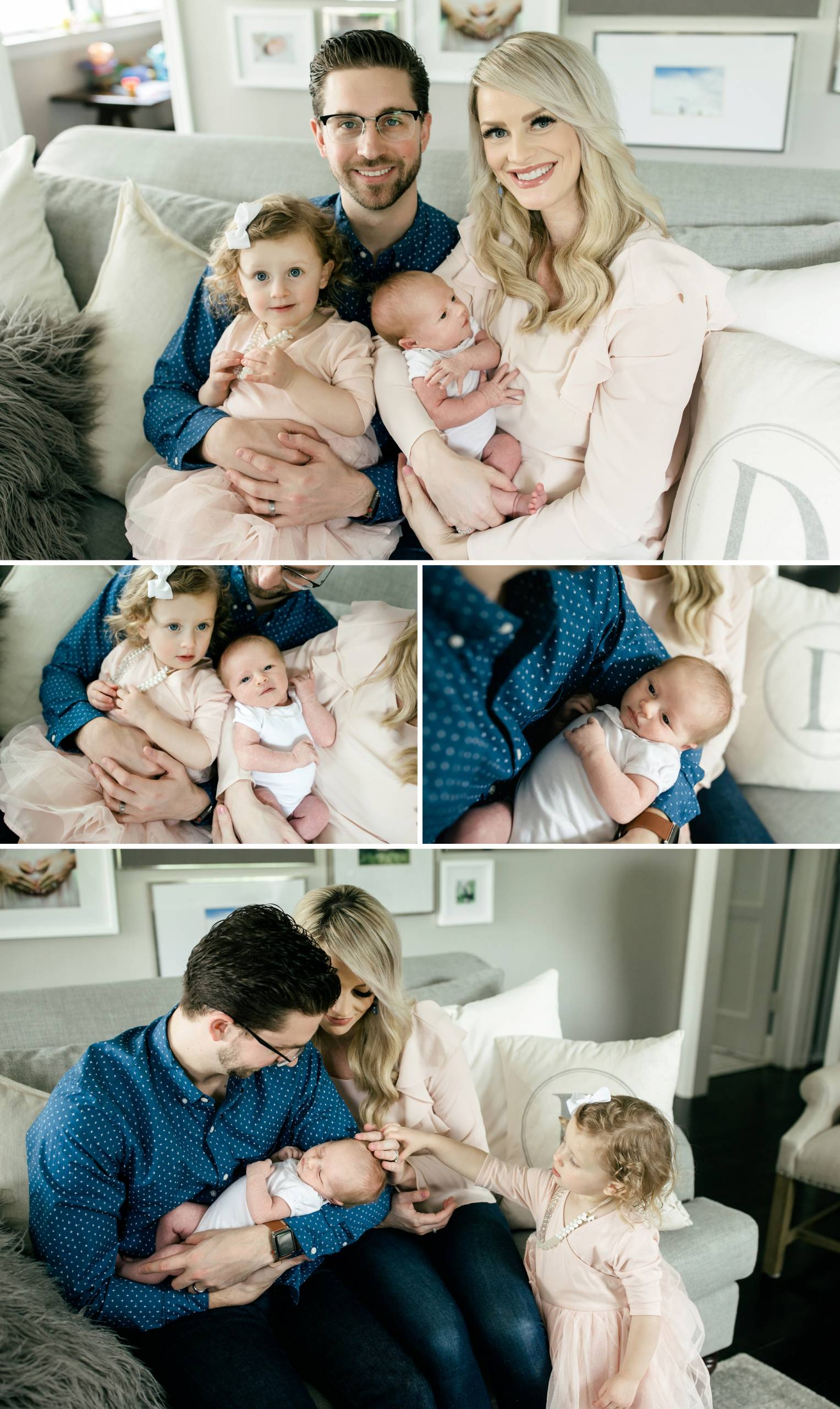 Seattle Lifestyle Newborn Baby Photographer