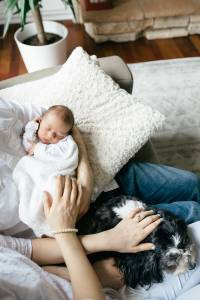 At Home Light and Airy Natural Newborn Photography