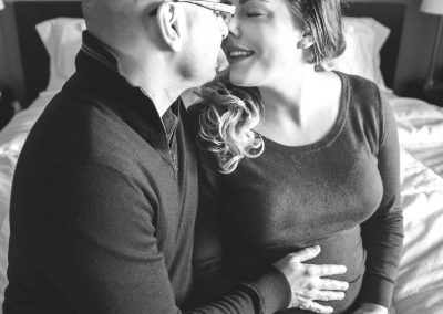 lifestyle maternity session in home